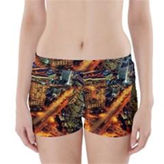 Hdri City Boyleg Bikini Wrap Bottoms