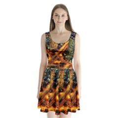 Hdri City Split Back Mini Dress