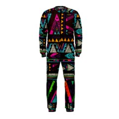 Cute Hipster Elephant Backgrounds OnePiece Jumpsuit (Kids)