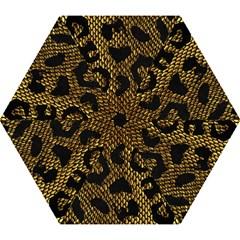 Metallic Snake Skin Pattern Mini Folding Umbrellas