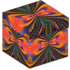 Casanova Abstract Art Colors Cool Druffix Flower Freaky Trippy Storage Stool 12
