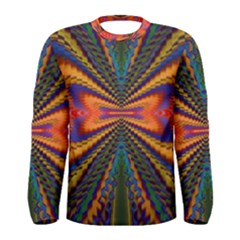 Casanova Abstract Art Colors Cool Druffix Flower Freaky Trippy Men s Long Sleeve Tee