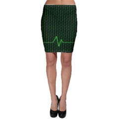 01 Numbers Bodycon Skirt