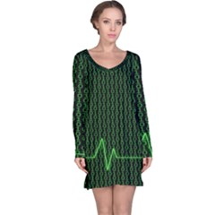 01 Numbers Long Sleeve Nightdress