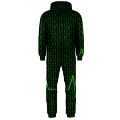 01 Numbers Hooded Jumpsuit (men)