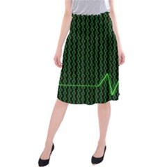 01 Numbers Midi Beach Skirt