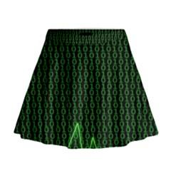 01 Numbers Mini Flare Skirt