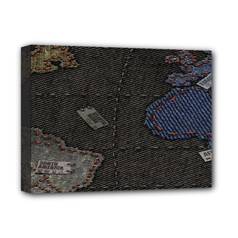 World Map Deluxe Canvas 16  x 12