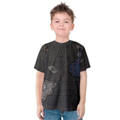 World Map Kids  Cotton Tee