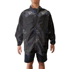 World Map Wind Breaker (Kids)