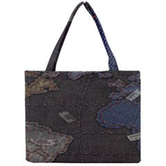 World Map Mini Tote Bag