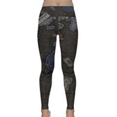 World Map Classic Yoga Leggings