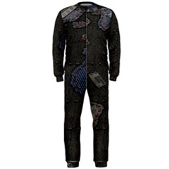 World Map Onepiece Jumpsuit (men)