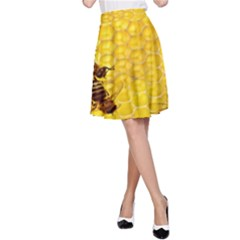 Sweden Honey A-Line Skirt