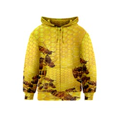 Sweden Honey Kids  Zipper Hoodie