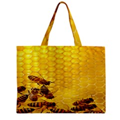 Sweden Honey Zipper Mini Tote Bag