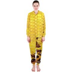 Sweden Honey Hooded Jumpsuit (Ladies)