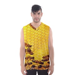 Sweden Honey Men s Basketball Tank Top