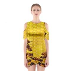 Sweden Honey Shoulder Cutout One Piece