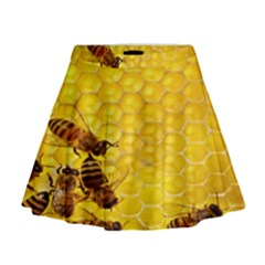 Sweden Honey Mini Flare Skirt