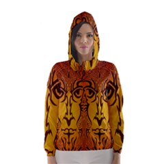 Lion Man Tribal Hooded Wind Breaker (Women)