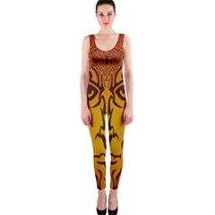Lion Man Tribal OnePiece Catsuit
