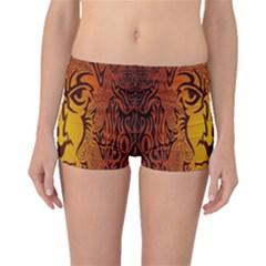 Lion Man Tribal Boyleg Bikini Bottoms