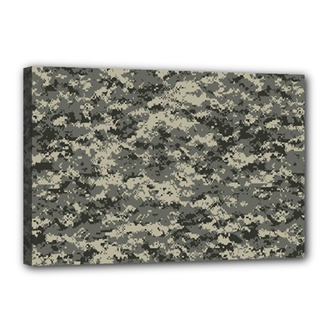 Us Army Digital Camouflage Pattern Canvas 18  x 12