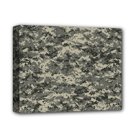 Us Army Digital Camouflage Pattern Deluxe Canvas 14  x 11