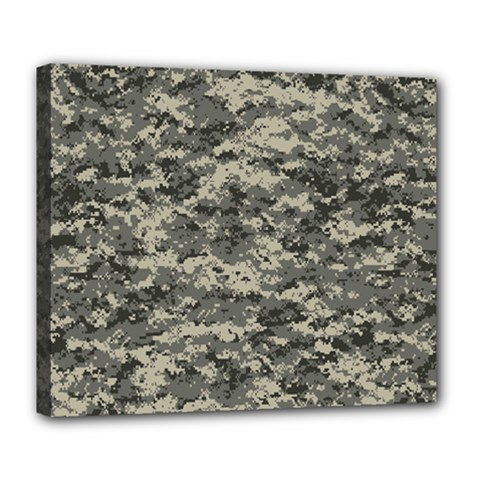 Us Army Digital Camouflage Pattern Deluxe Canvas 24  x 20
