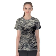 Us Army Digital Camouflage Pattern Women s Sport Mesh Tee