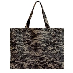 Us Army Digital Camouflage Pattern Zipper Mini Tote Bag