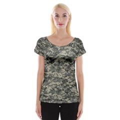 Us Army Digital Camouflage Pattern Cap Sleeve Tops