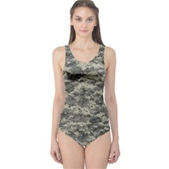 Us Army Digital Camouflage Pattern One Piece Swimsuit