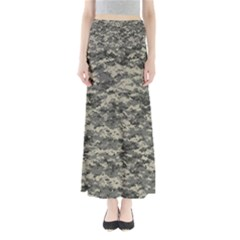 Us Army Digital Camouflage Pattern Full Length Maxi Skirt