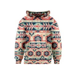Aztec Pattern Copy Kids  Pullover Hoodie