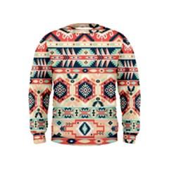 Aztec Pattern Copy Kids  Sweatshirt