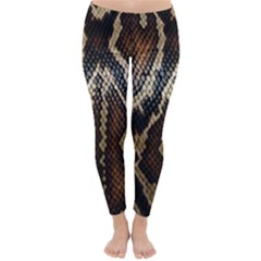 Snake Skin O Lay Classic Winter Leggings