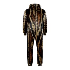 Snake Skin O Lay Hooded Jumpsuit (Kids)