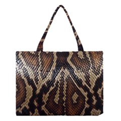 Snake Skin O Lay Medium Tote Bag