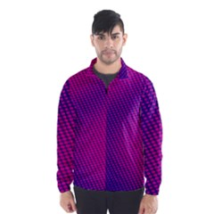 Purple Pink Dots Wind Breaker (Men)