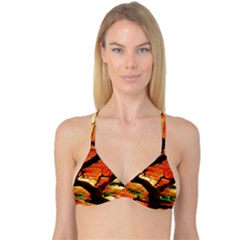 Maple Tree Nice Reversible Tri Bikini Top