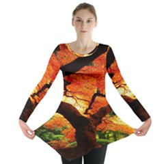 Maple Tree Nice Long Sleeve Tunic