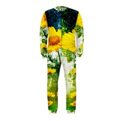 Yellow Flowers OnePiece Jumpsuit (Kids)