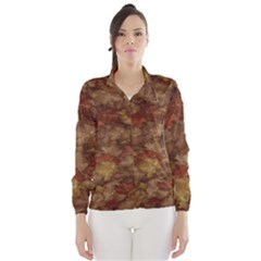 Brown Texture Wind Breaker (women)