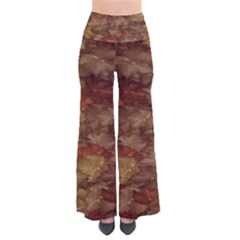 Brown Texture Pants