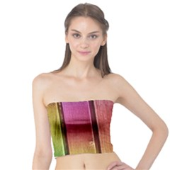 Colourful Wood Painting Tube Top