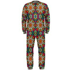 Jewel Tiles Kaleidoscope OnePiece Jumpsuit (Men)
