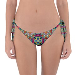 Jewel Tiles Kaleidoscope Reversible Bikini Bottom