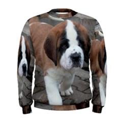 St Bernard Pup Men s Sweatshirt